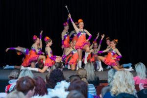 Fotografie ze soutěže mažoretek