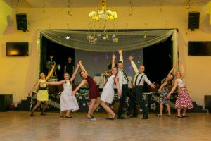Fotografie z vystoupení taneční skupiny Externo