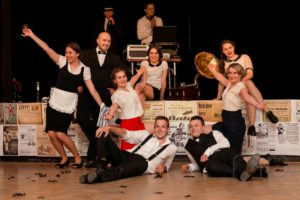 Fotografie z vystoupení taneční skupiny Exrerno