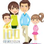 family_member_design_elements_vector