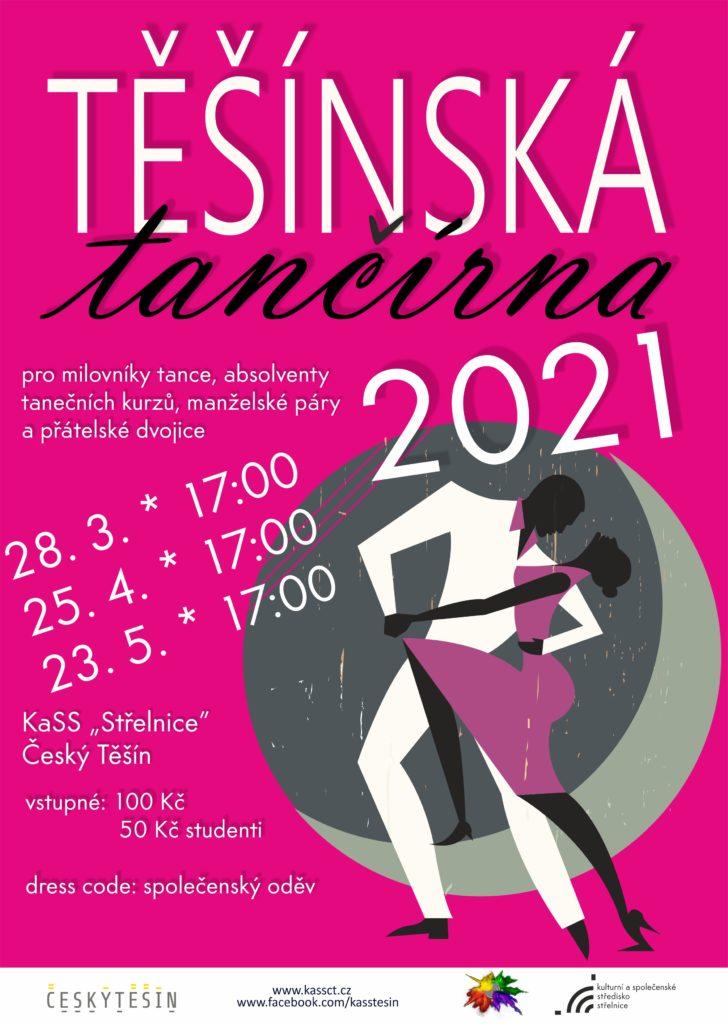 plakát k Těšínské tančírně