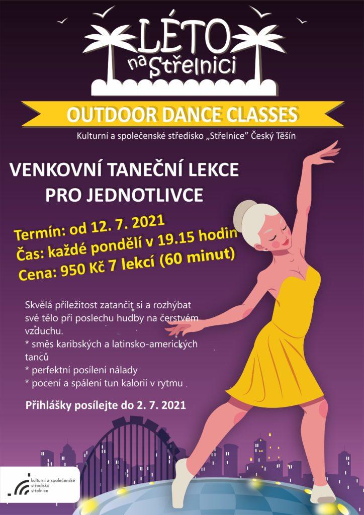 plakát k akci Outdoor dance classes