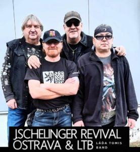 foto členů kapely J. Schelinger revival Ostrava